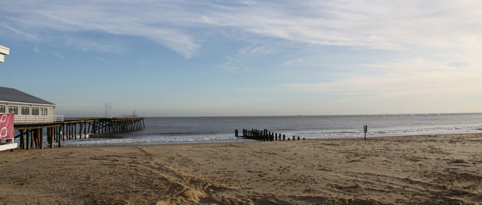 Lowestoft beach