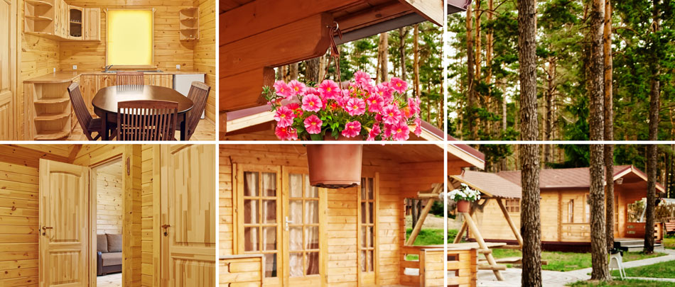 log cabins make very good holiday accommodation in suffolk