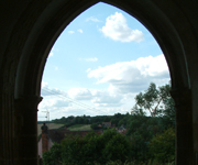 boxted doorway view